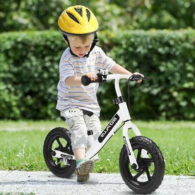 """12"""" White Balance Bike Children Boys Girls with Bell Exercise"""