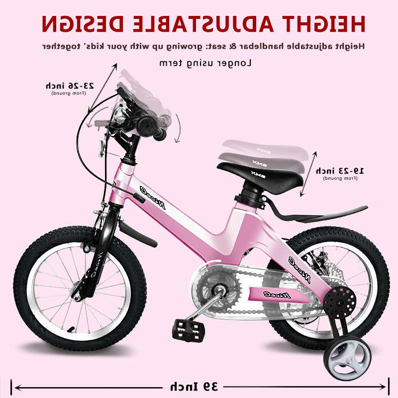 "12""-14""-16""-18"" Bicycle Boys Girls Training Wheels Disk"