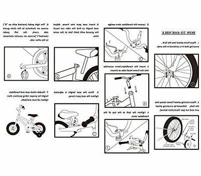 JoyStar Bike for Girls Children Bicycle with Wheels