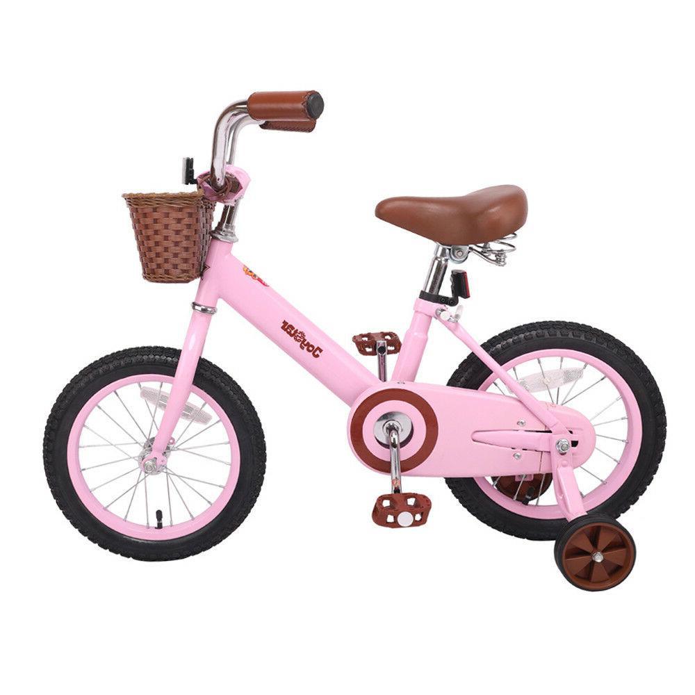 JoyStar Kids Bike with Front Basket Coaster Brake