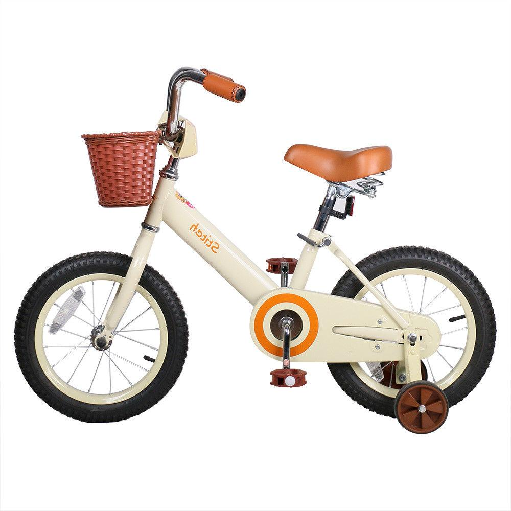 JoyStar 14 Inch Vintage Bike for Girls Coaster