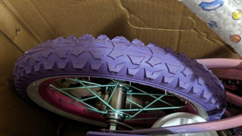 """14"""" Kids - Dynacraft, Pink, Purple, with Training Wheels Ages 4-7"""