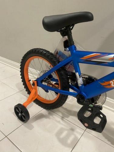 "16"" Boys' Kids Brake Removable Training Blue"