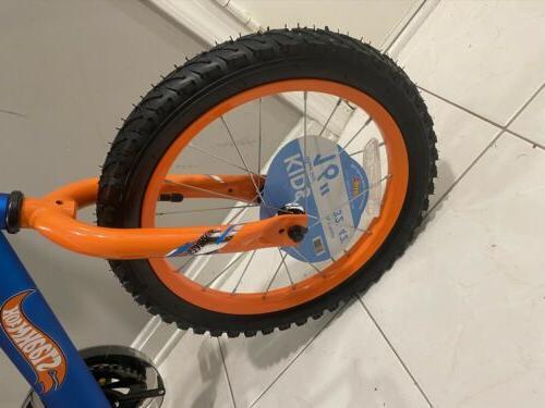"16"" Boys' Hot Kids Rear Brake Removable Training Blue"