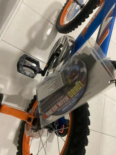 "16"" Boys' Kids Bike Rear Brake Training Blue"