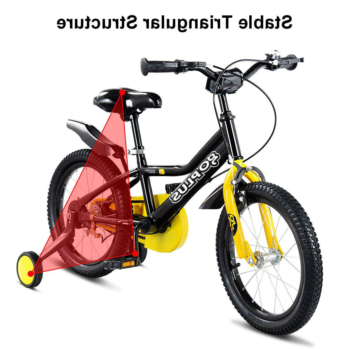"16"" Children Boy Girl Bicycle Wheels"