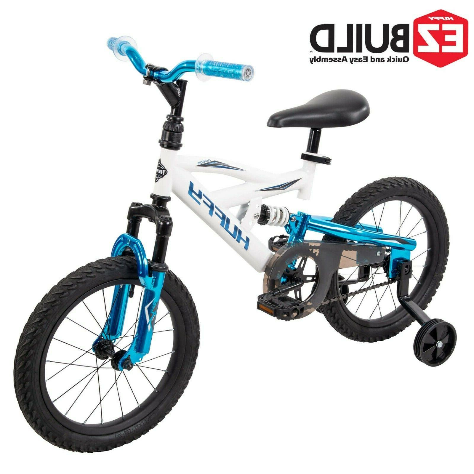 """Huffy 16"""" DS 1600 Boys' Bike for Kids with EZ Build Bicycle"""