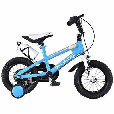"16"" Kids Bicycle Children Blue"