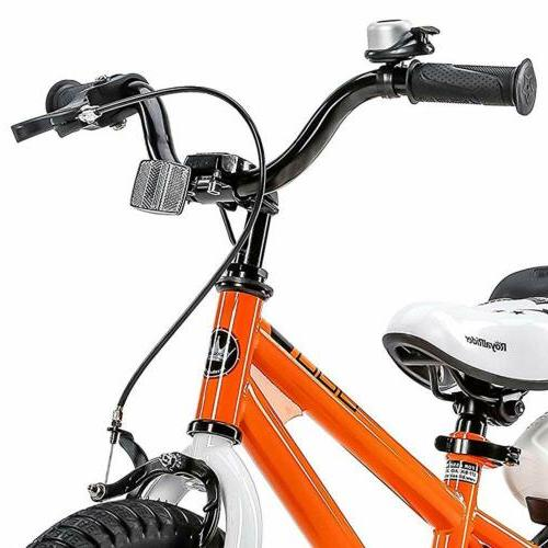 16 Inch for Boys & Girls with Training Wheels and Kickstand