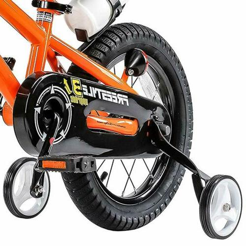 16 Inch for & Girls with Training Wheels