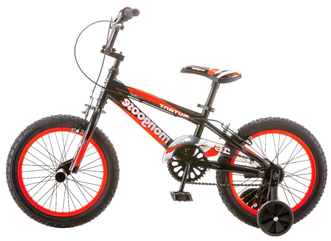 16 Inch Mongoose Bike Kids Child Training Wheels
