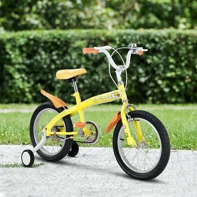 "16"" Outdoor Wheels Bell Boys Girls Yellow"