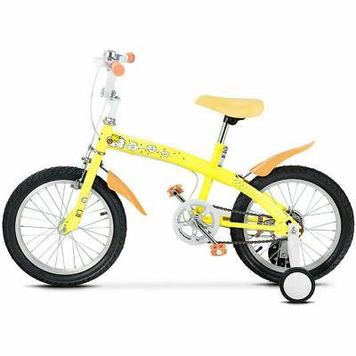 "16"" Kids Bicycle Outdoor Wheels Bell Boys Girls"