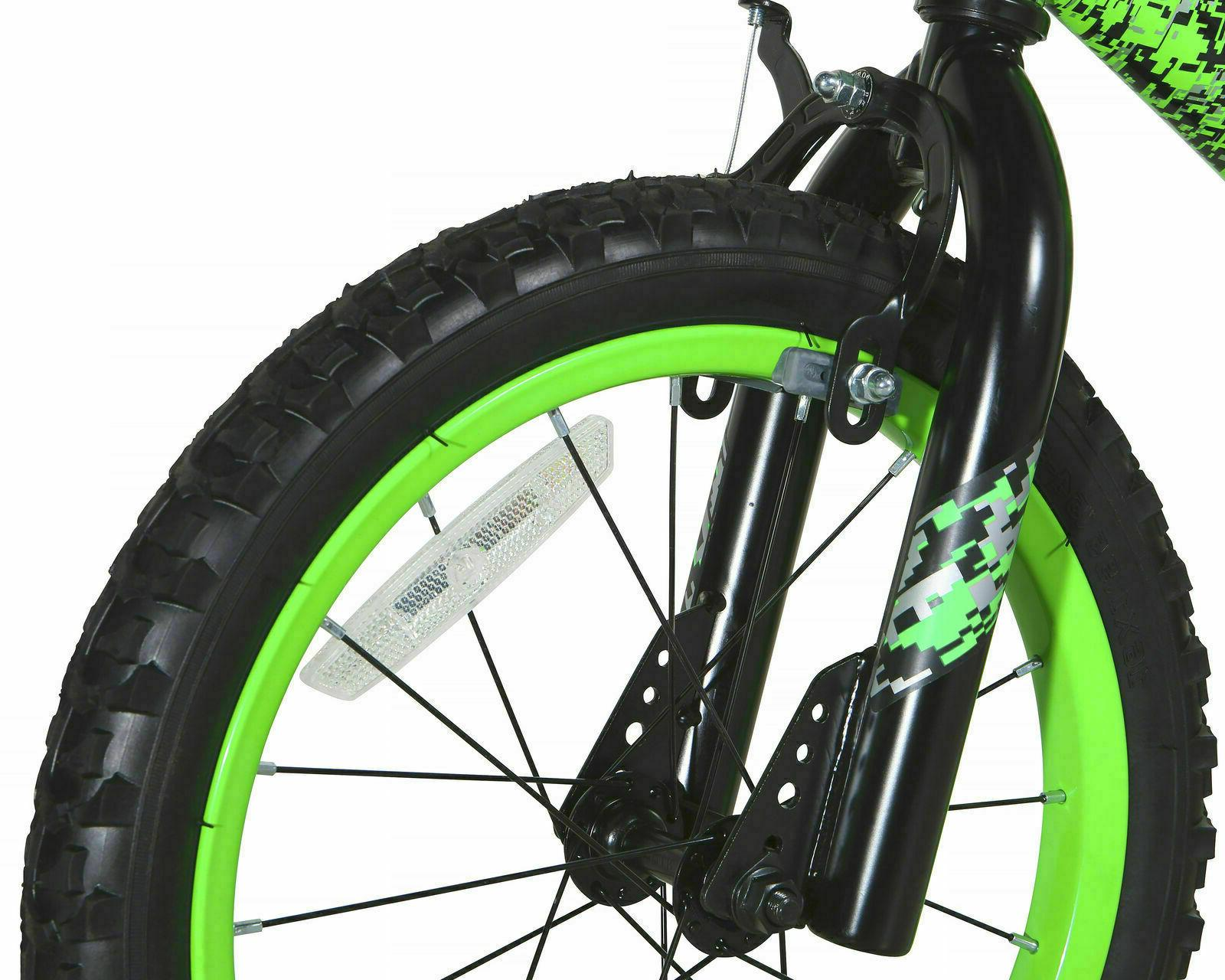 """16"""" Bicycle Boys with Wheels Green"""