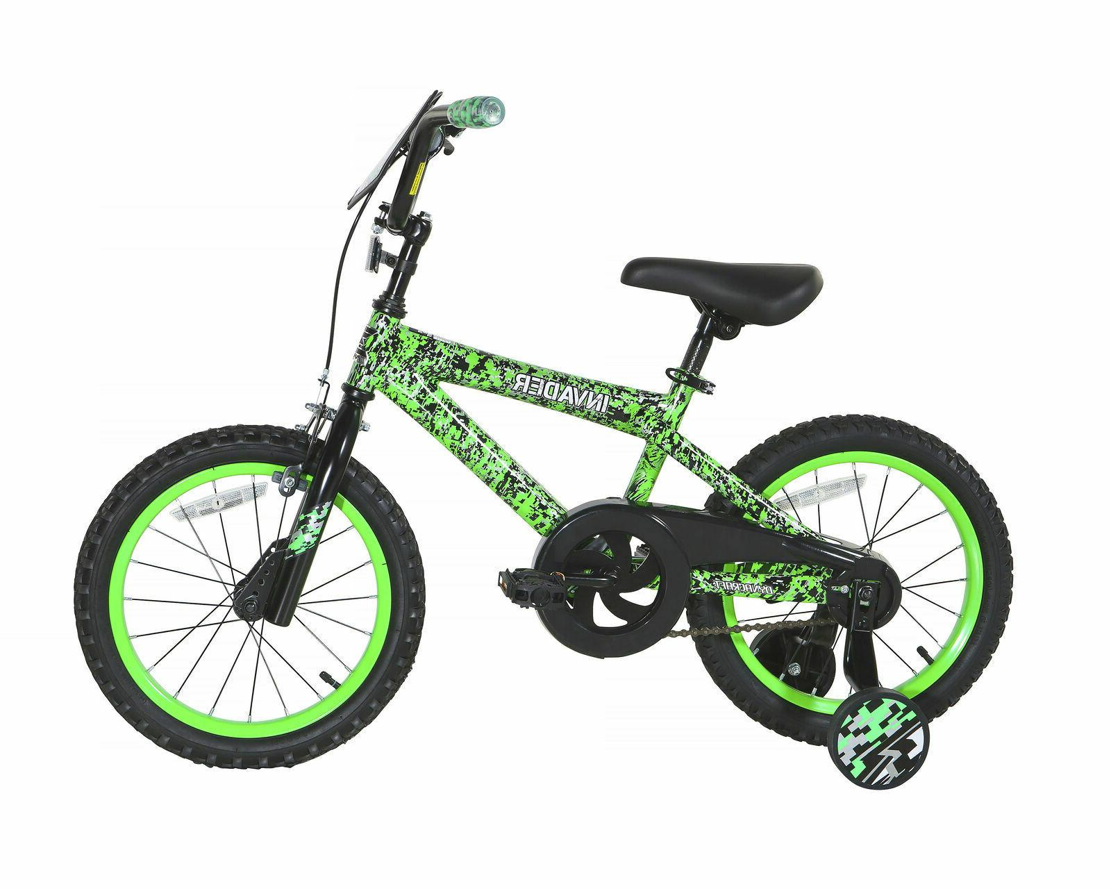 "16"" Kids Bicycle Boys Girls with Training Wheels Yr"