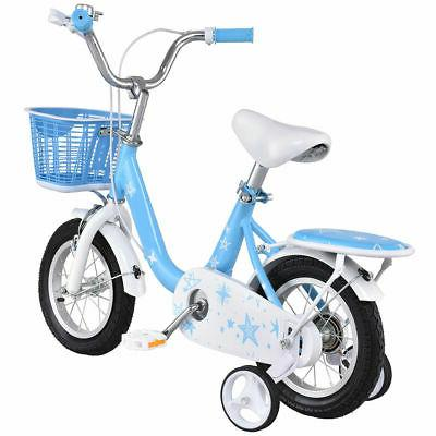 "12"" Bicycle Children Boys with Basket Blue"
