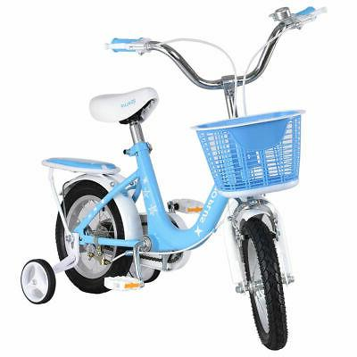 "12"" Bicycle Children Boys & Girls with Training Basket"