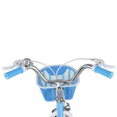"""12"""" Children Boys & with Wheels and Basket Blue"""