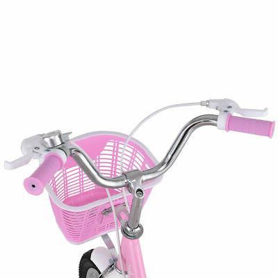 """16"""" Bike Children Girls with Basket Pink"""