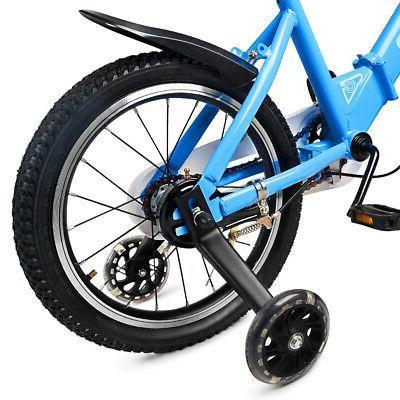 "16"" Kids Foldable Bicycle Boys + Wheel"