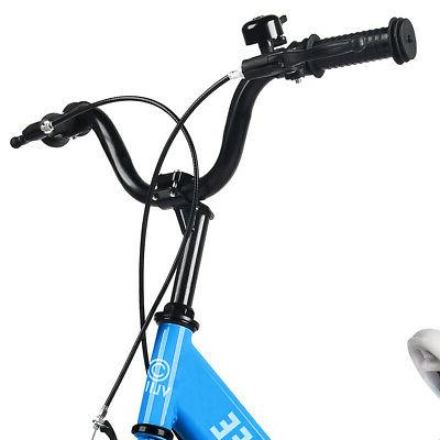 "16"" Bicycle Adjustable Seat Flash Wheel"