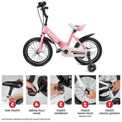 Bicycle Boys + Adjustable Seat Flash Training Wheel