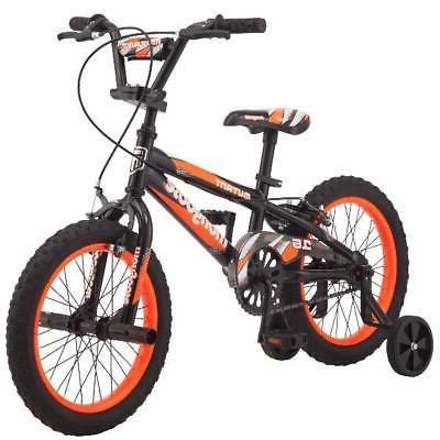 16 mutant boys bike black orange