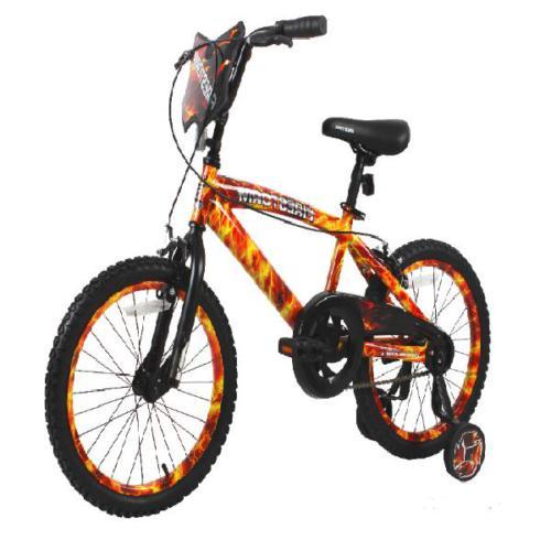 """Dynacraft 18"""" Bike Brakes Red Orange Yellow Black"""