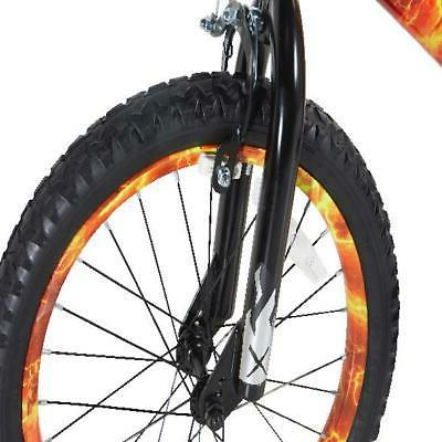 "Dynacraft 18"" Boys Firestorm Bike Orange Black"