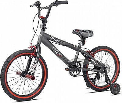 """18"""" BMX Boy's Bike Children Rims Freestyle Steel Frame Brake"""