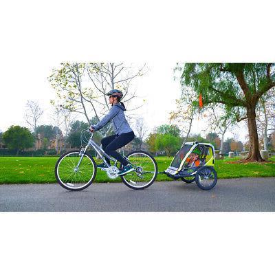 2-Child Cart Outdoor Kid Racing