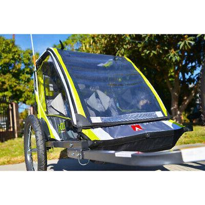 2-Child Lightweight Cart Racing Sports Green