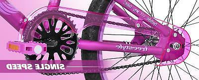 BMX Girls Bike 8 to Satin