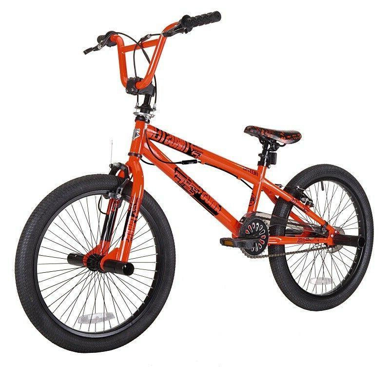 "20"" Boys Mens Free Style BMX Bike Trick Bicycle Brakes Wheel"