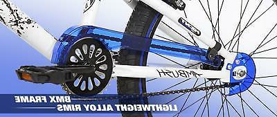 20 Adjustable Pedals Racing BMX Blue