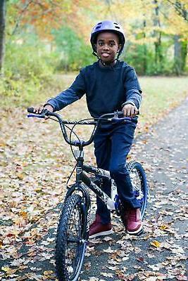20 Inch Adjustable Seat Ambush Tires Pedals Racing BMX Blue