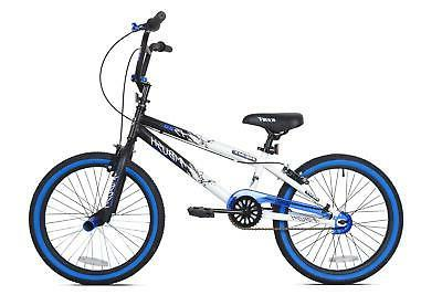 20 Bike Adjustable Pedals Racing Bicycle Blue