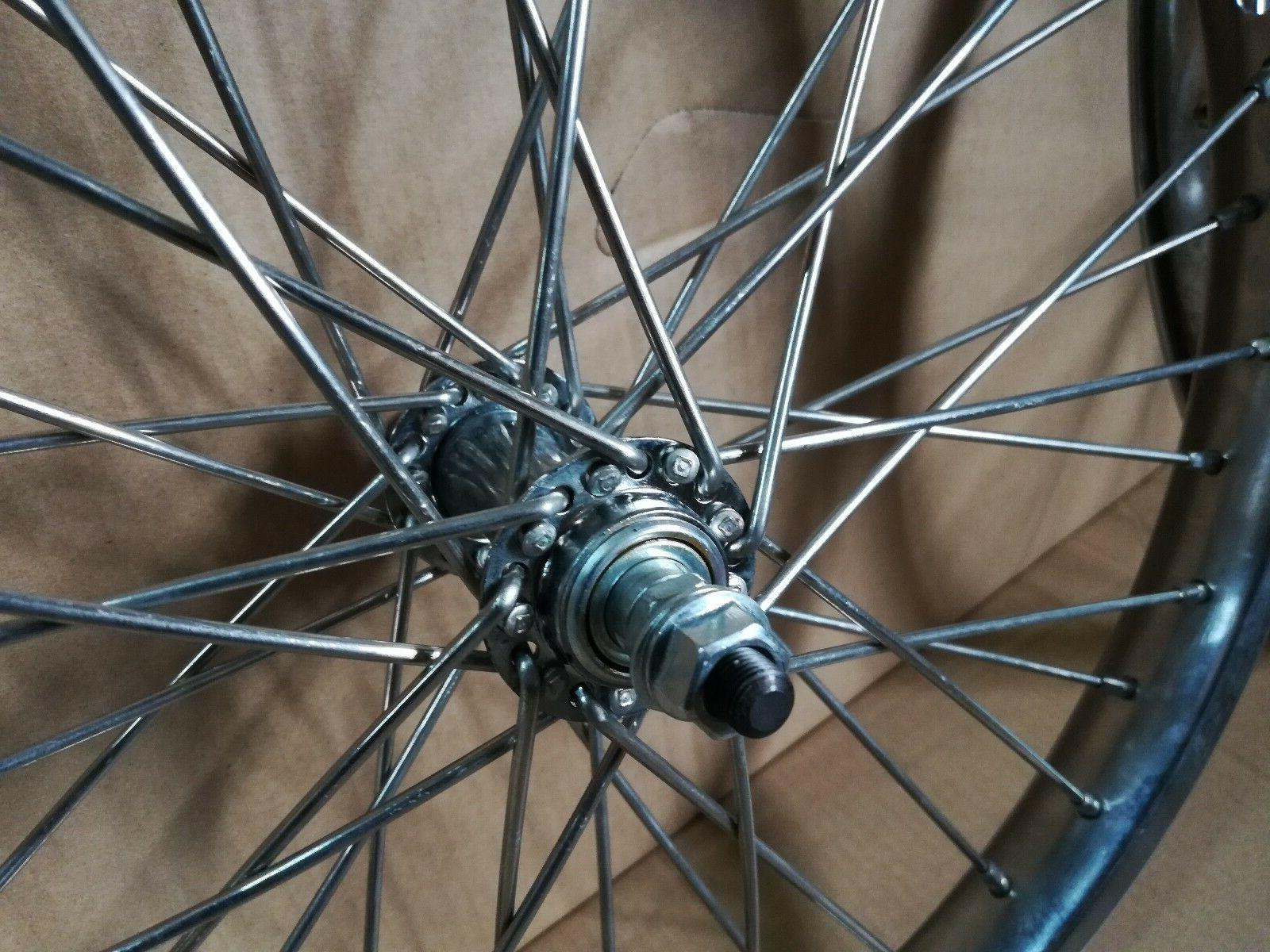 20 inch Front Heavy Duty bicycle wheel 10g spokes  20x2.125