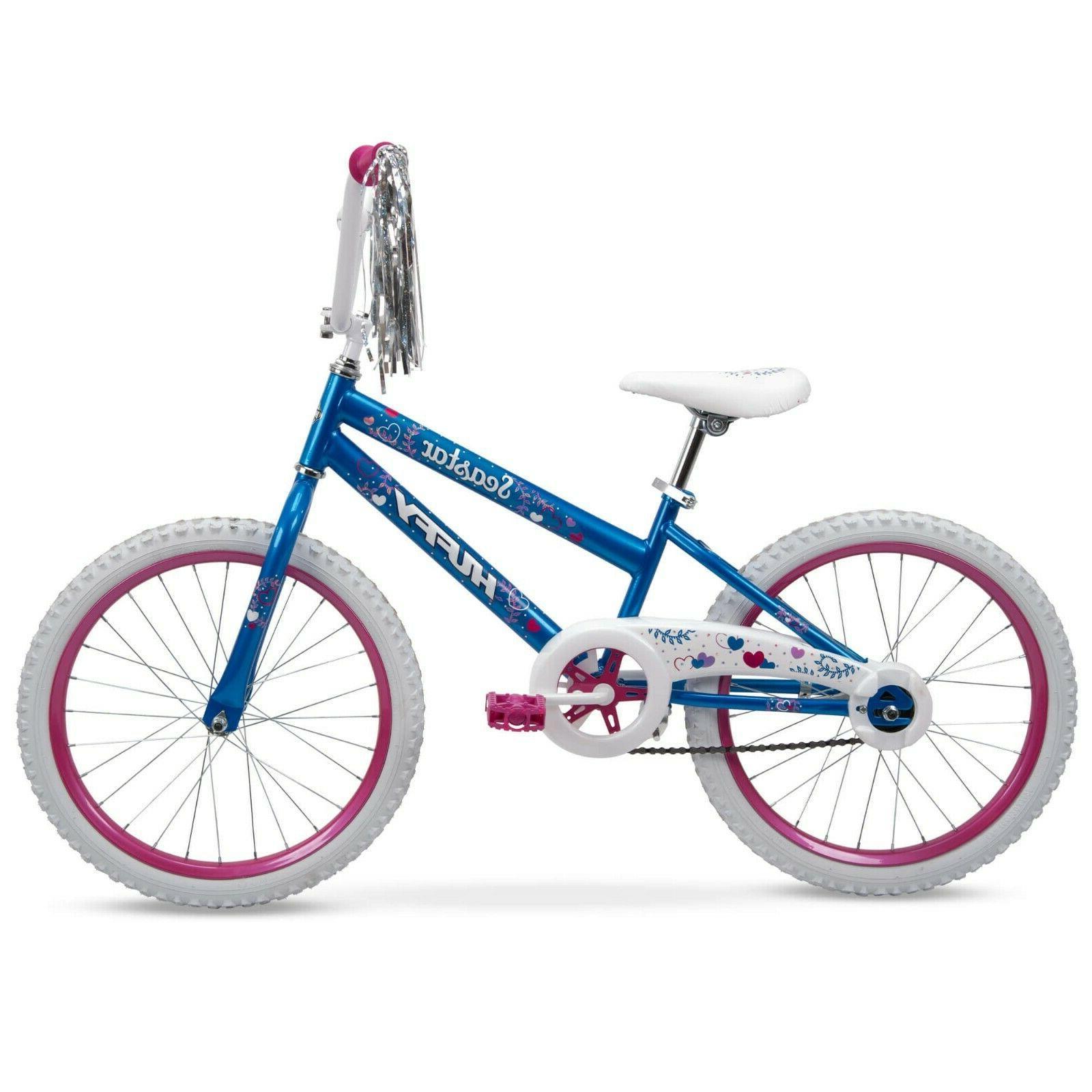 "20"" Kids Bike Girls BMX Bicycle Sidewalk 20-inch Tween Frees"