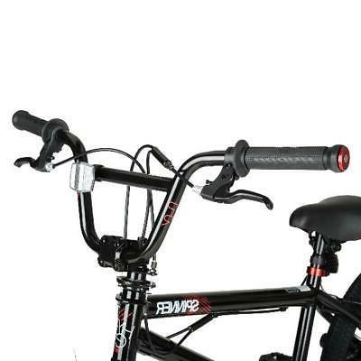 "20"" Bike Boys Bicycle Steel Frame Cycling Black"