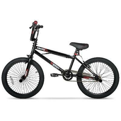 "20"" BMX Boys Bicycle Wheels Steel Frame Black"