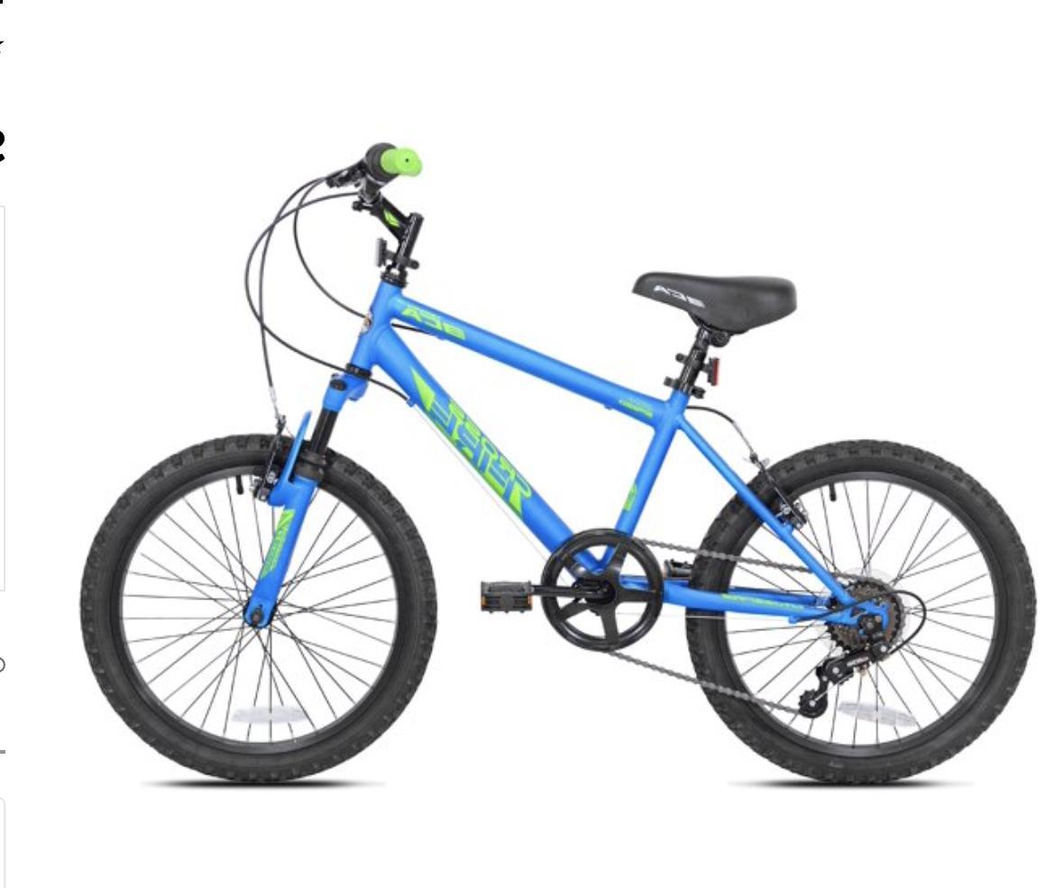 "20"" Kids Bike Boys Bicycle 20 Age 8"