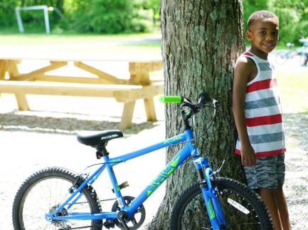 Boys 20 MTB Cycling Blue For