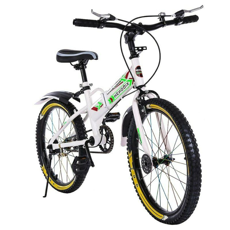 "20"" Kids Bike Bicycle Boys & Girls Mountain Bike Disk Brake"