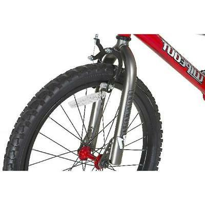 """Dynacraft 20"""" Wipeout Bike Ages 7 9 and 44"""", Red"""