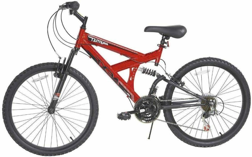 mountain bike 24 inch 18 speed dual