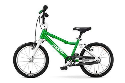"""woom Bike 16"""", 6 Green"""