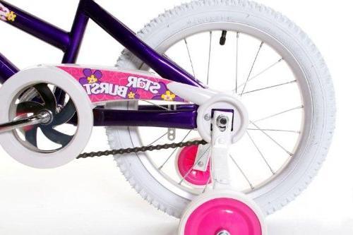 Dynacraft BMX Street/Dirt Bike Purple/White/Pink