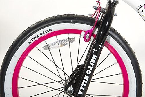 Hello BMX White/Black/Pink