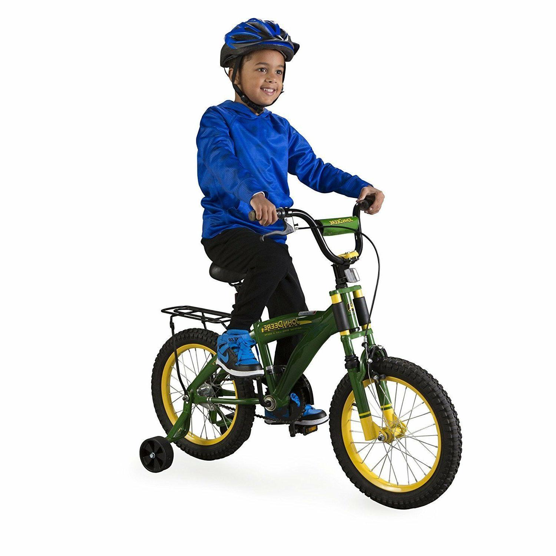 "John Deere 16"" Bicycle Green"